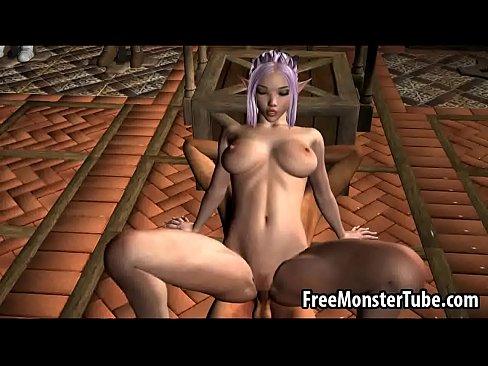 Elf pussy porn video