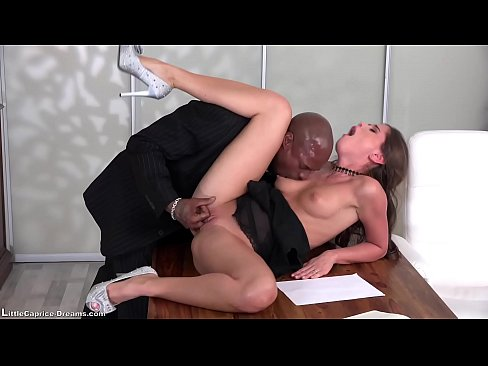 Black – Little Caprice get fucked first time from a  black big cock 3gp xxx porn videos