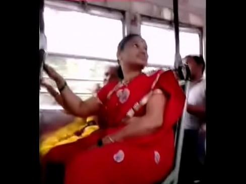 Red Saree Aunty – Big Ass