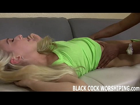 Black cock drills tight ass