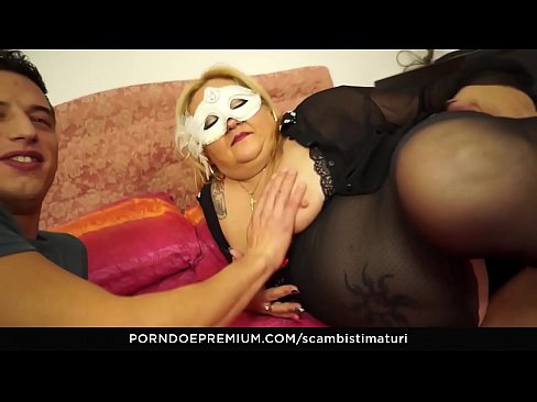 SCAMBISTI MATURI – Blonde Italian BBW Is The Perfect Newbie To Be Fucked By Younger Stallion