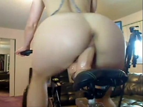 XVIDEOS Driving bicycle and riding BIGG dildo, check her at meetsgram.com/ruby.gardiner free