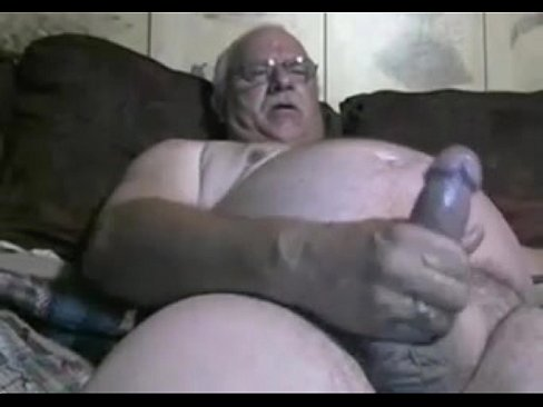 Grandpapa jerk off on cam