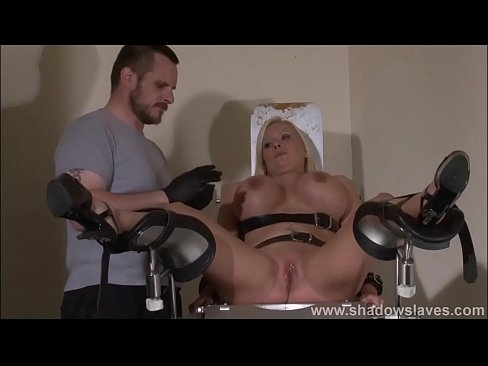 Slave Melanie Moons interracial doctors bdsm and medical pussy punishment of bus's Thumb