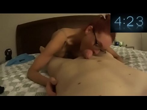 Blonde Teen Slow Blowjob