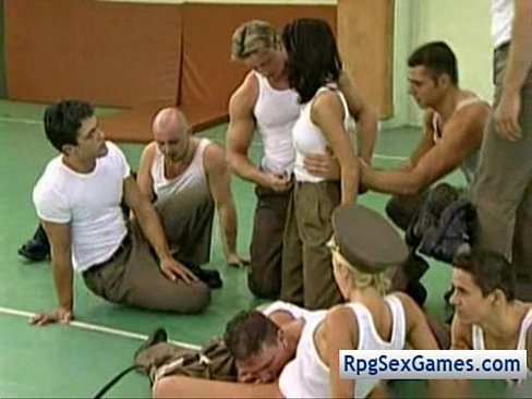 Army Boys Gangbang