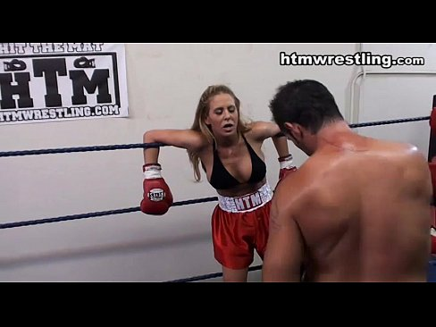Boxing Bitches Dominated By Man