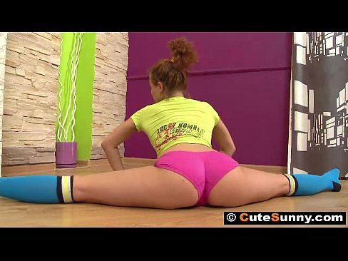 cover video gymnast sunny i  n hard action