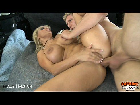 Big breasted Holly Halston gets ass fucked