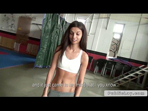 Girl blowjob group restroom amateur