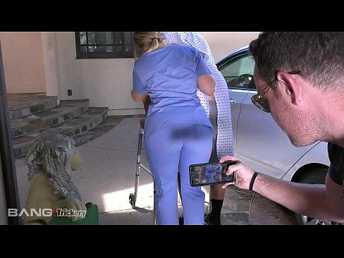 PAWG AJ Applegate has sex on the job