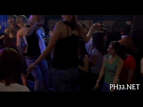 Group-sex wild patty at night club indian porn videos