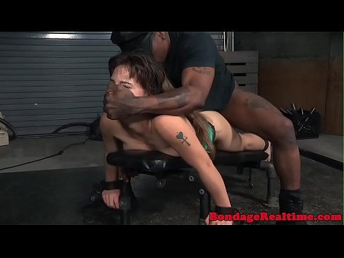 Throat choking big cock