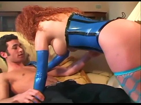 Gorgeous Gal In Shiny Black Latex Anal Sex Anal Porn