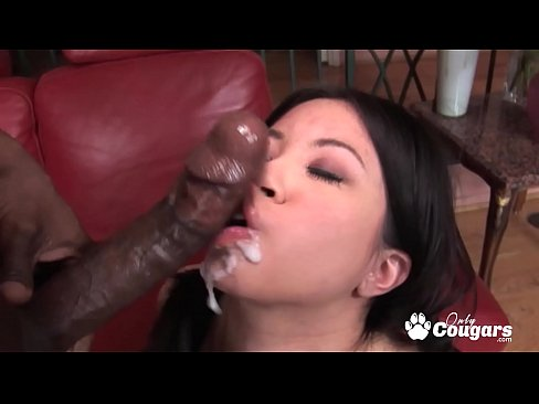 Asia Zo Puts A Black Cock Inside Her Tight Little Twat