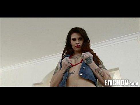 emo slut with tattoos 0942
