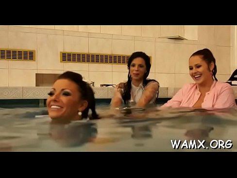 Bewitching lezzie hotties enjoying food porn xxx delight - Download mp4 XXX porn videos