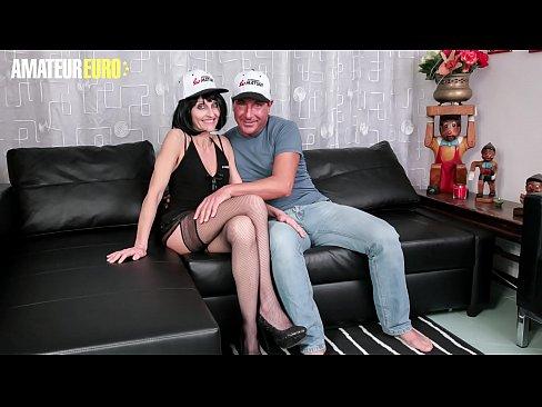 AMATEUR EURO - Italian Mature Emma Valente Gets Her Pussy Deep Pleased On Cam