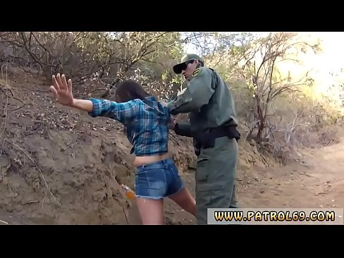 Xxx pawn police and force Kayla West was caught lusty patrool during