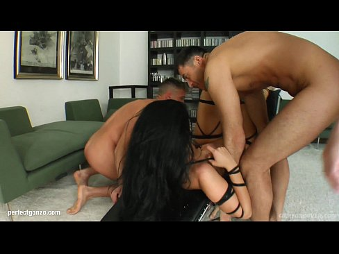 Aletta Ocean in group bukkake blowbang action from Cum For Cover