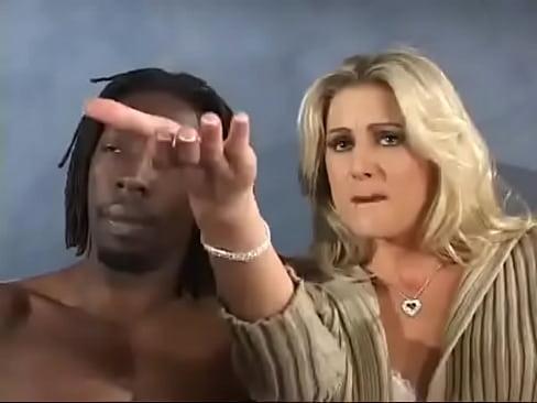 Sexy girl giving blowjob