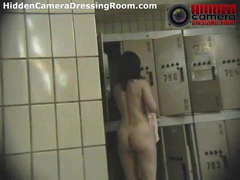 girl cameras room Nude locker