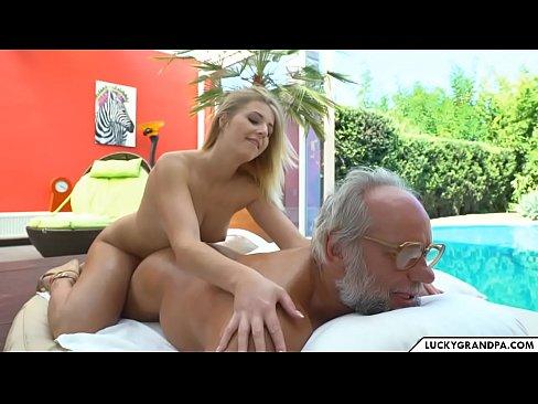 XXX 2019 hot massage for grandpa
