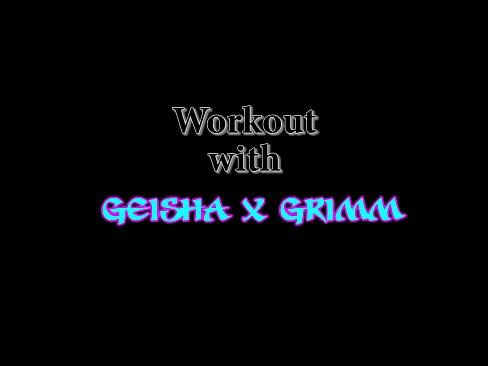 BBW workout with Geisha Grimm