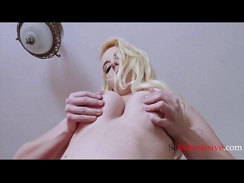 Dumb blonde goes rogue for a dick!