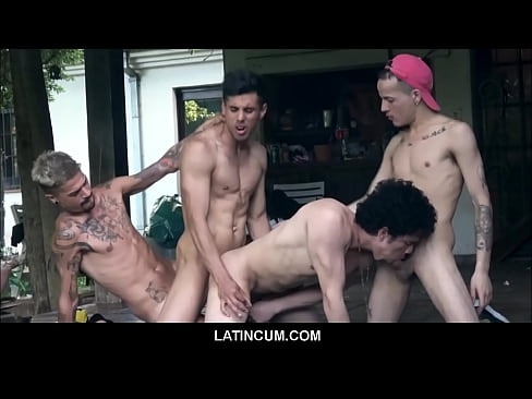 Amateur Latino Boys Group Sex Orgy At Gay Sex Retreat