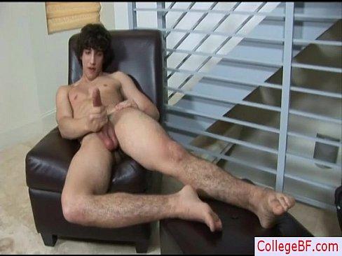 Guy Wanks His Dick