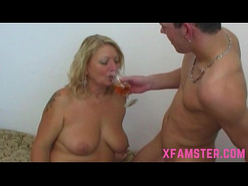 Bigass milf riding stepsons fat prick