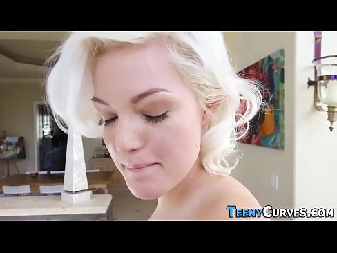 Big butt blonde fucking