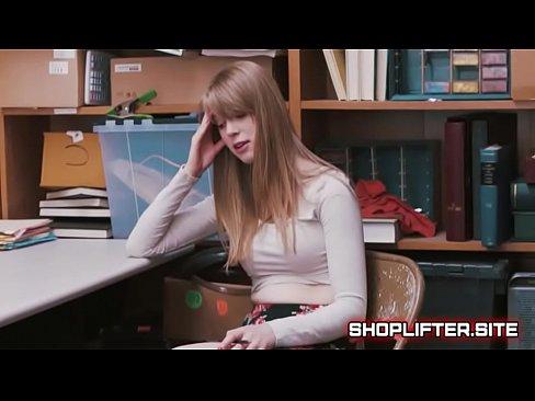 Girlnextdoor Busted Stealing From Store On HiddenCam