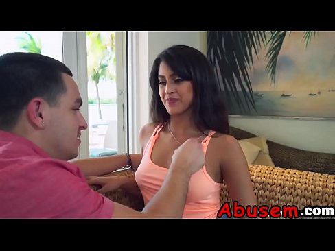 Kinky Latina Sophia Leone enjoys rough pussy banging with her loverd-2