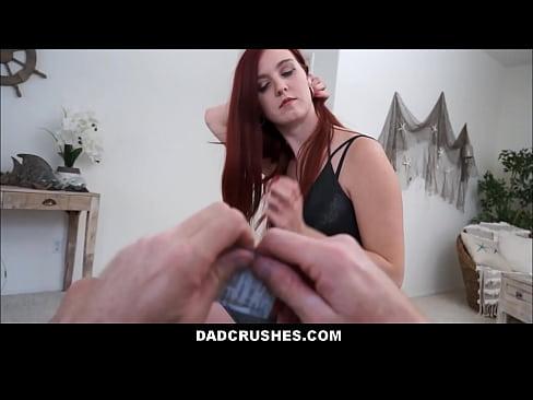 Fucking My Teen Redhead Stepdaughter