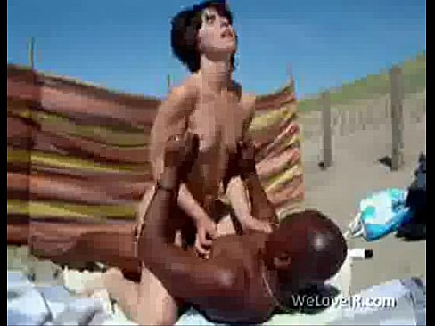 Fucking Pussy On Public Beach