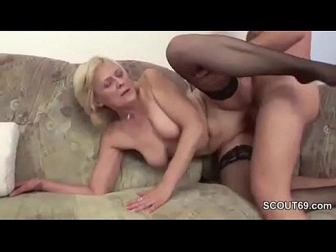 naked granny having sex with grandson