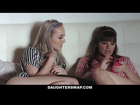 DaughterSwap – Teens fuck dads best friend during movie