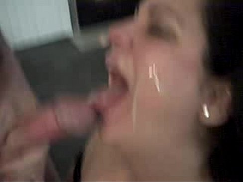 Mature lady watching men handjob