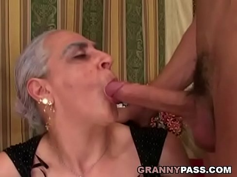 Granny On Monster Cock