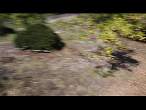Nude in San Francisco:  Abused wife Cordelia masturbates and toys in public