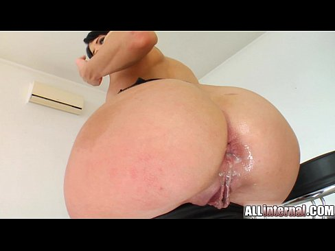 That She has an anal explosion remarkable