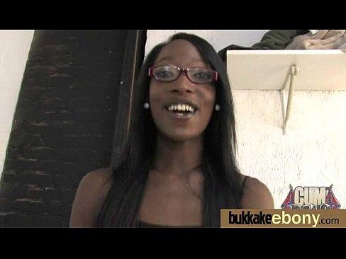 Ebony in a huge bukkake 25 xnxx indian porn videos