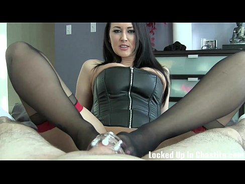 Naughty boys like you need to be locked up in chastityXXX Sex Videos 3gp