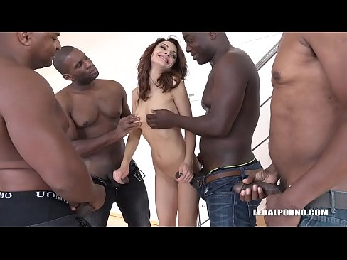 dominica phoenix taken to her limit with interracial double anal fuck