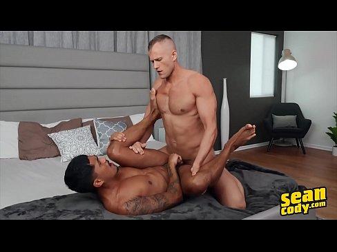 Asher Pounding (Blake) Against The Wall Till The Guys Cum Hard - Sean Cody