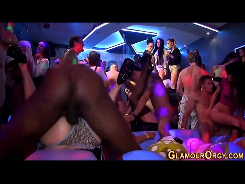 Party whores get fucked