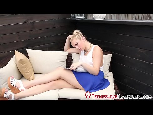 On blondes teen creamed