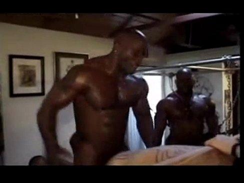 Nasty Interracial Gay Guys Gangbang Fuck